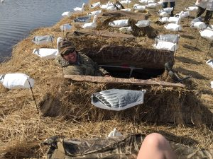 Snow Goose Hunt Relaxing