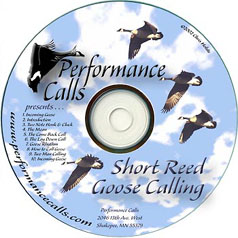 Instructional Goose Calling CD