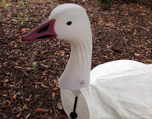 Snow Goose Windsock Decoy Heads
